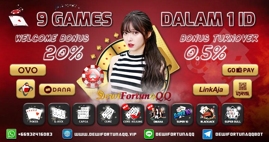 Situs Judi Poker QQ Deposit Pulsa Terbaik Di Indonesia